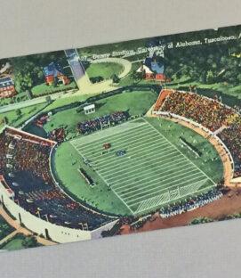 Denny Stadium vintage 1930s Postcard
