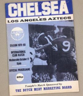 Chelsea Los Angeles Aztecs 1979 Program