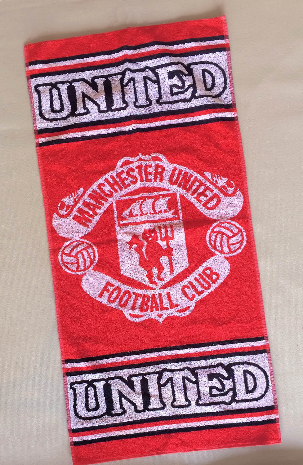 Manchester United 1980s Rally Towel
