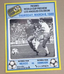 Mexico vs Denmark Program