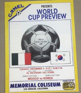 Mexico vs South Korea Program