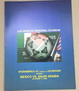 Mexico vs Saudi Arabia Program