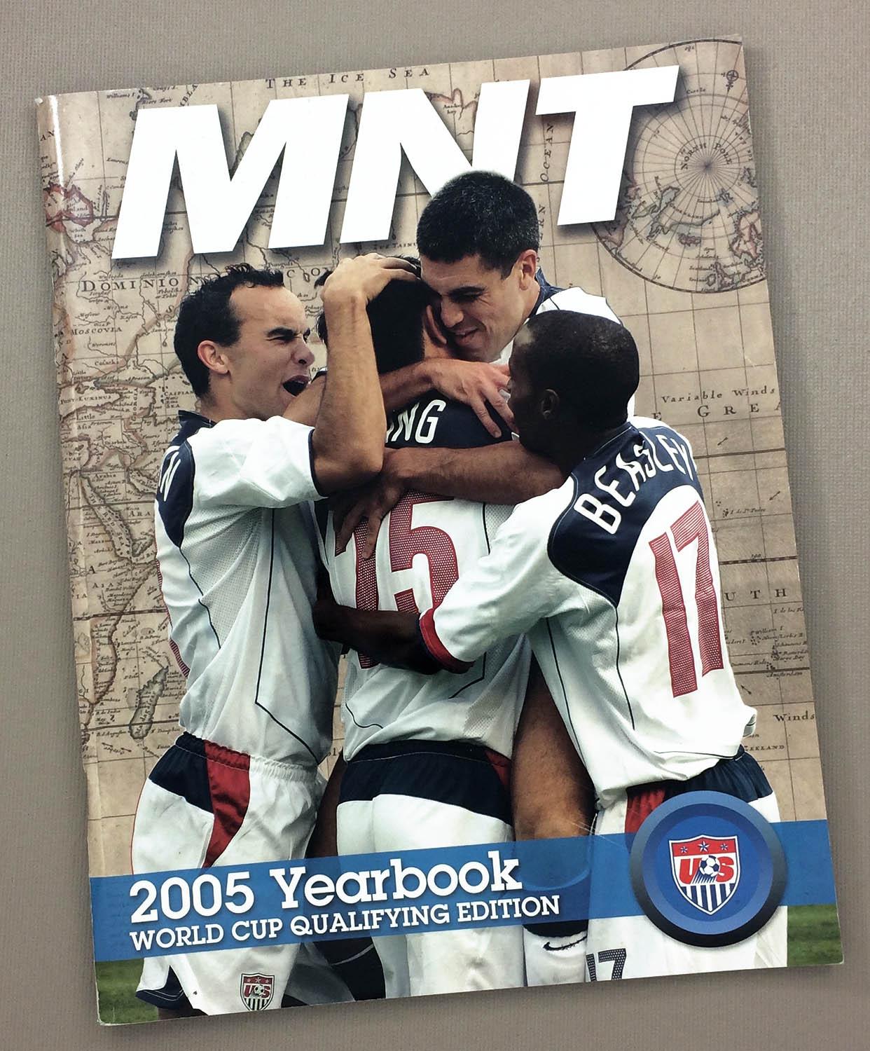 2005 U.S. Men's National Team Yearbook