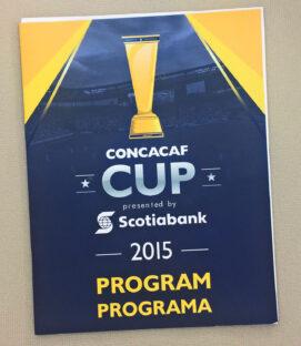 2015 CONCACAF CUP Program