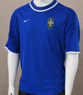 Brazil Nike National Team Blue Jersey