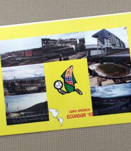 1993 Copa America Ecuador Postcard Set
