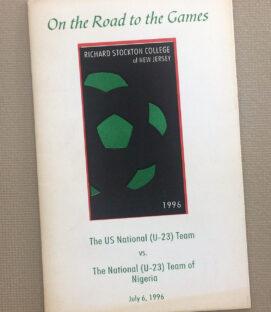 US vs Nigeria 1996 U-23 Program