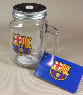 Barcelona Mason Jar Mug