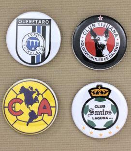 Liga MX Button Set 1