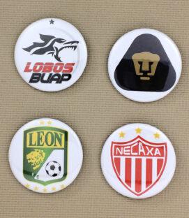 Liga MX Button Set 2
