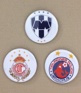 Liga MX Button Set 4