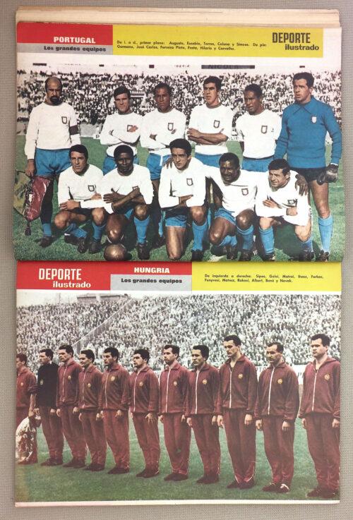Eusebio 1966 Portugal