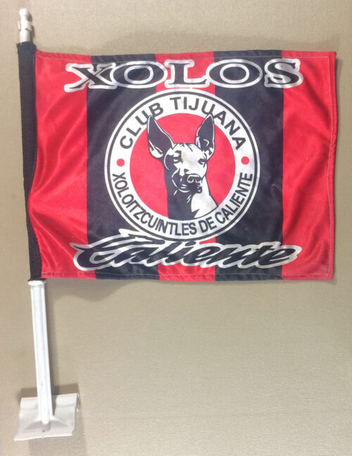 Tijuana Xolos Window Flag