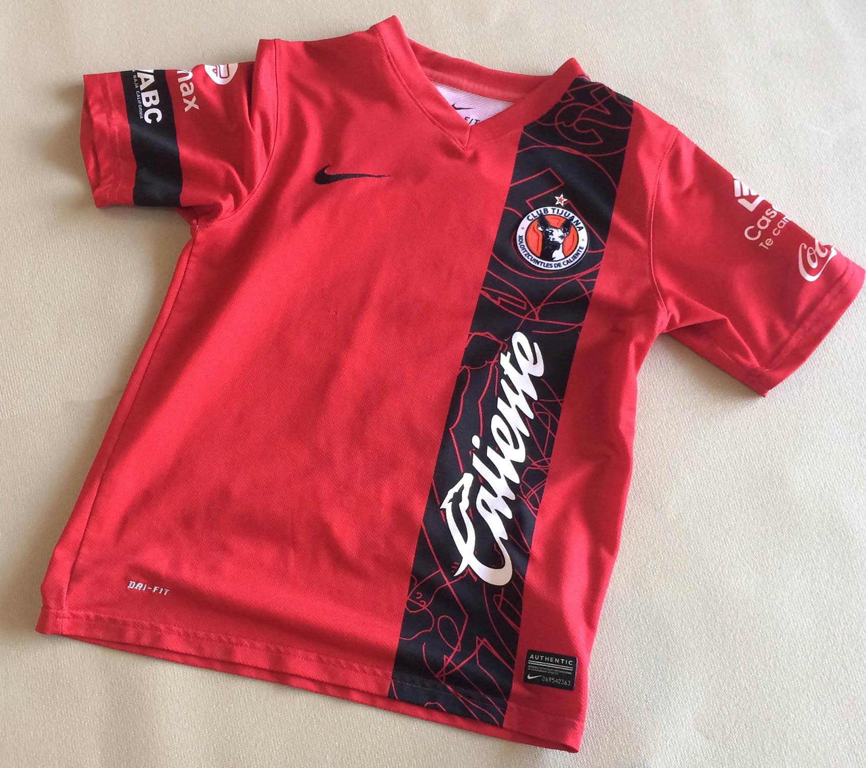 Tijuana Xolos Fidel Martinez Kids Jersey
