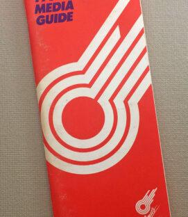 Kansas City Comets 1985-86 Media Guide