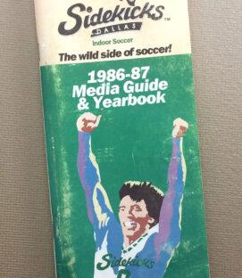 Dallas Sidekicks 1986-87 Media Guide