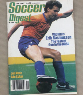 Soccer Digest January 1987 Issue