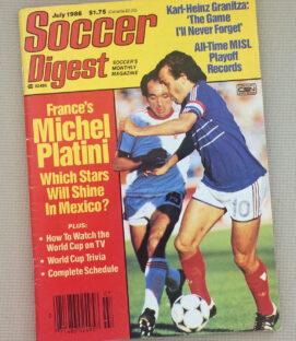 Soccer Digest July 1986