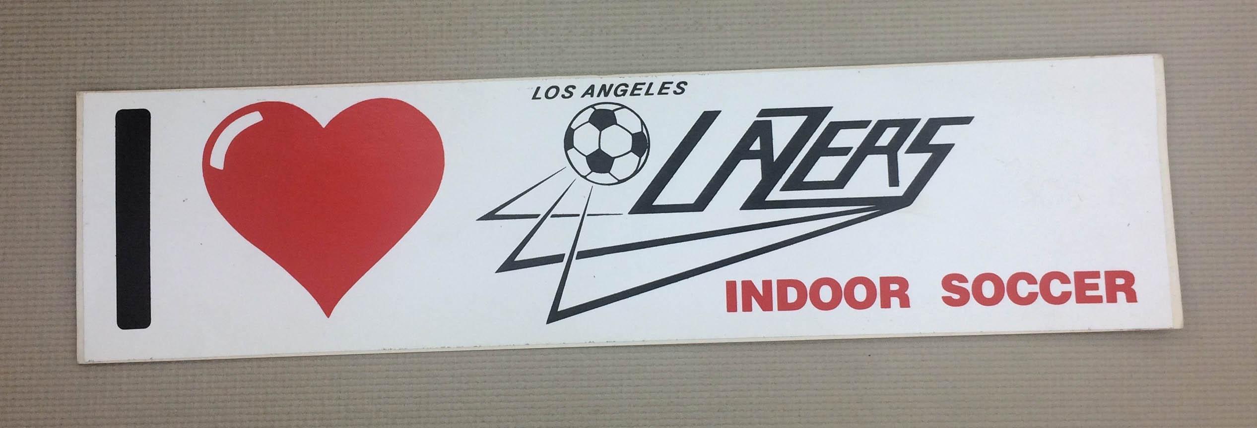Los Angeles Lazers Bumper Sticker