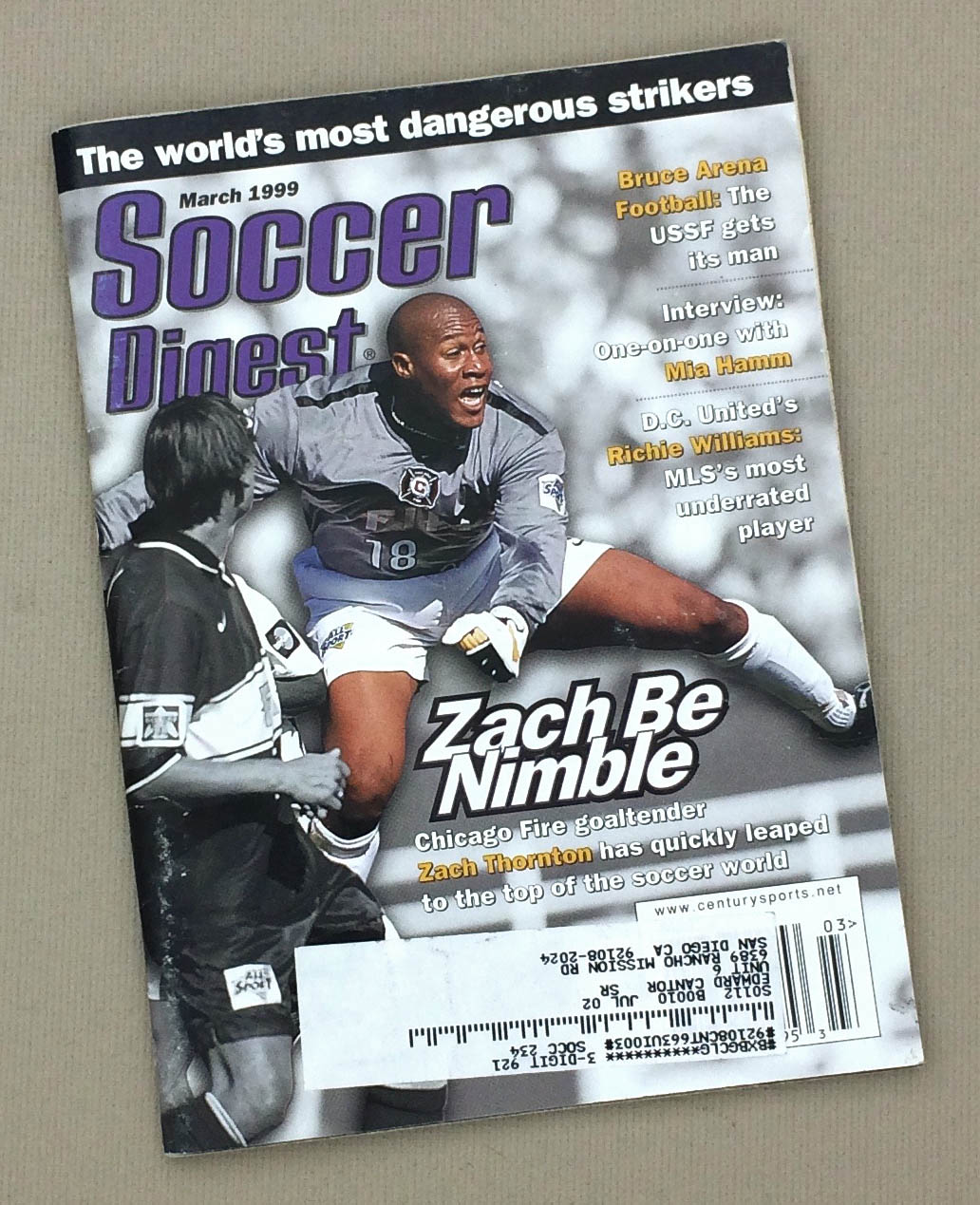 Soccer Digest March 1999