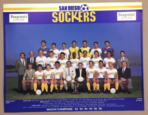 San Diego Sockers 1989 Team Photo