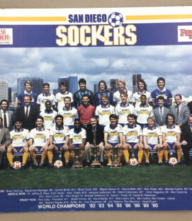San Diego Sockers 1991 Team Photo