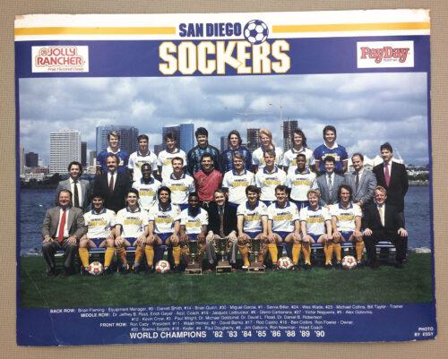San Diego Sockers 1991 Team Photo