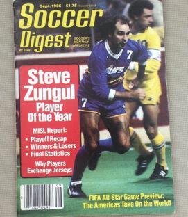 Soccer Digest September 1986 Issue