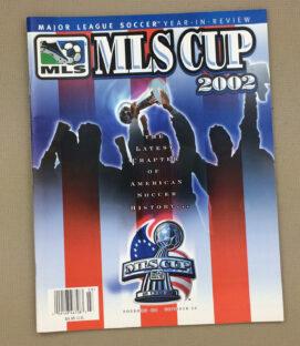 2002 MLS Cup Program