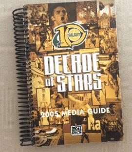 Los Angeles Galaxy 2005 Media Guide