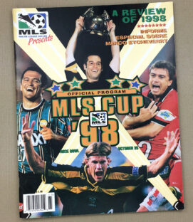 1998 MLS Cup Program