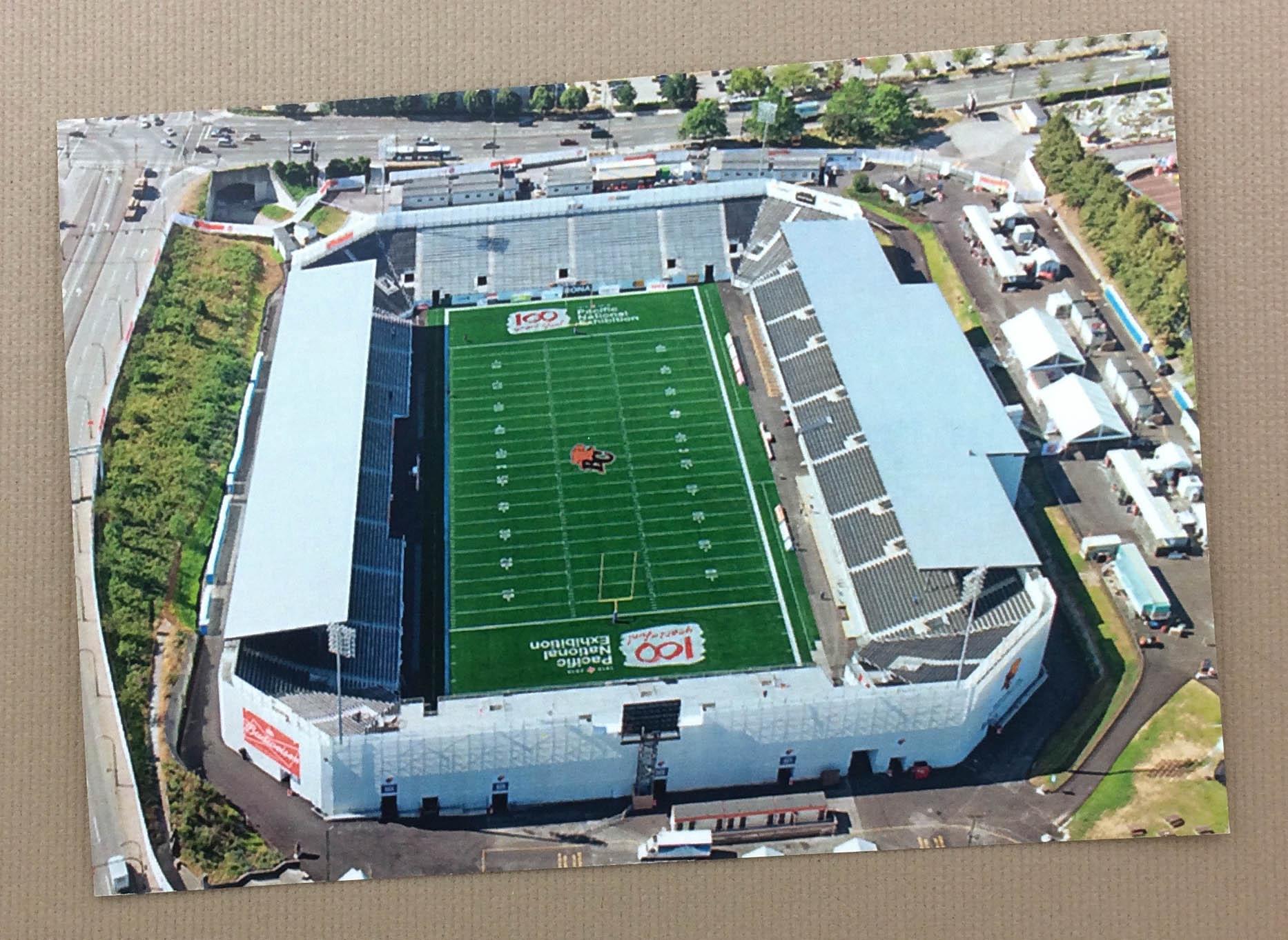 Empire Field Vancouver Postcard