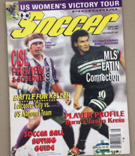 Soccer Magazine July/August 1997 Issue