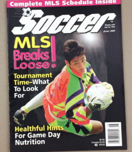Soccer Magazine 1996 MLS Launch Issue