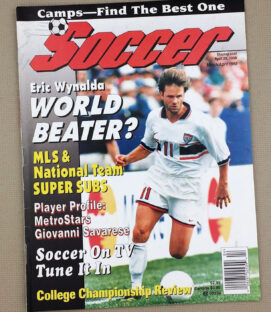 Soccer Magazine March/April 1998 Issue