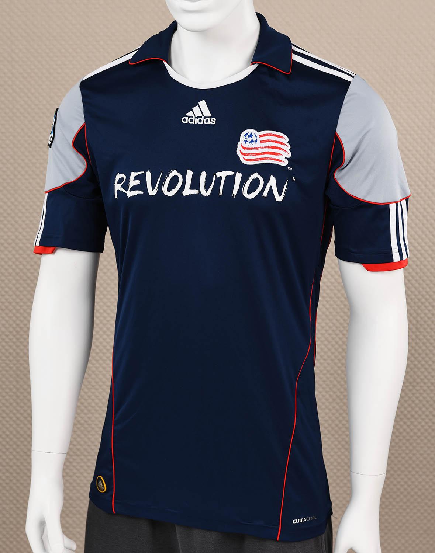 New England Revolution Adidas Blue Jersey