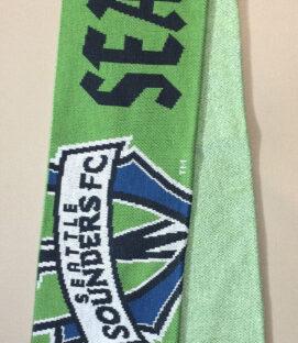 Seattle Sounders Green Logo Scarf
