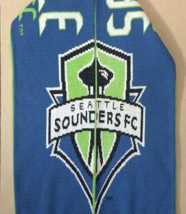 Seattle Sounders Logo Scarf