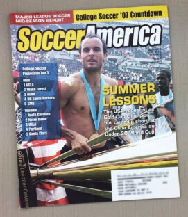 Soccer America August 2007 Issue