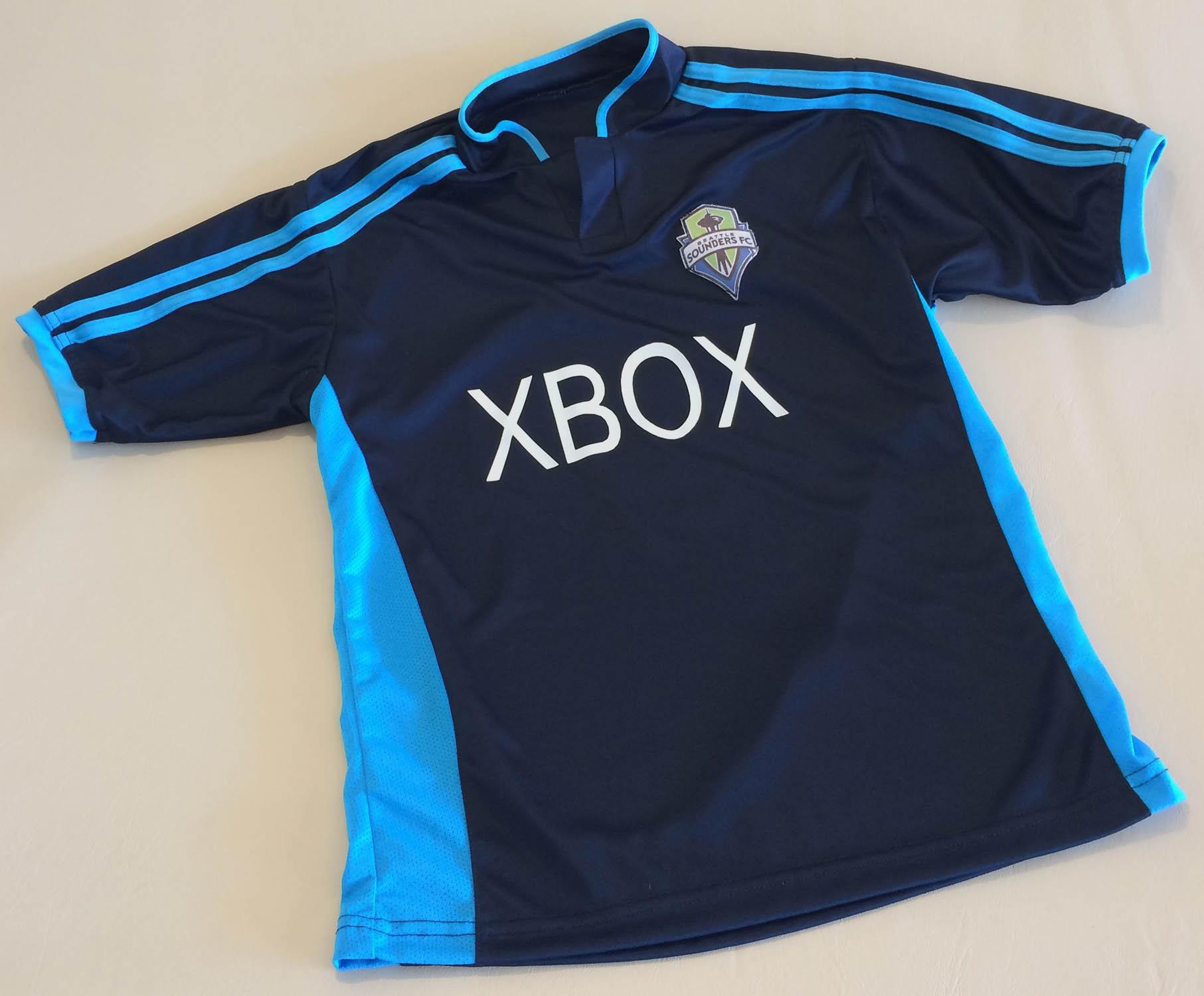 Seattle Sounders Blue Jersey