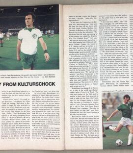 Sports Illustrated 1977 featuring Franz Beckenbauer