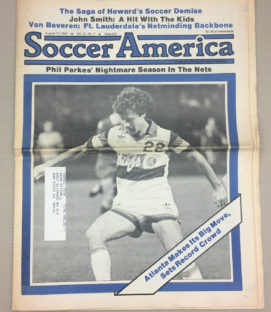 Soccer America Aug. 13, 1981 Issue