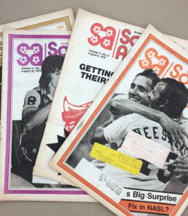 Soccer America August 1979 4-Pack