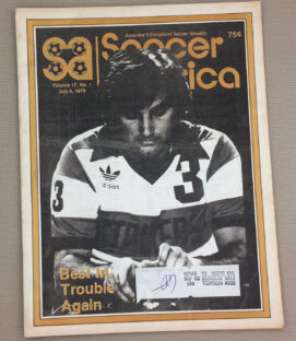 Soccer America July 5th 1979 Issue