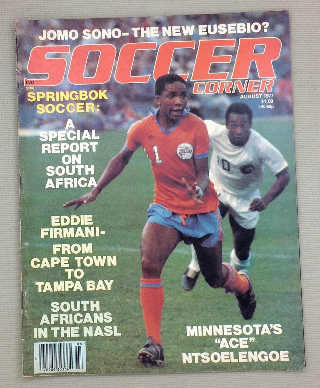 Soccer Corner Magazine August 1977