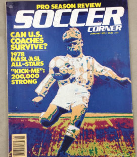 Soccer Corner Magazine January 1979