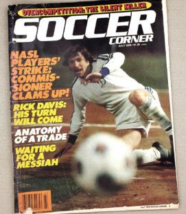 Soccer Corner Magazine July 1979 Issue
