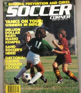 Soccer Corner Magazine March 1979