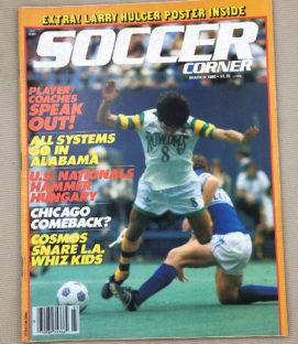 Soccer Corner Magazine March 1980