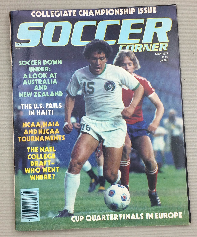 Soccer Corner Magazine May 1977